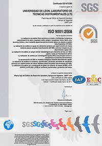 SGS ISO 9001:2008
