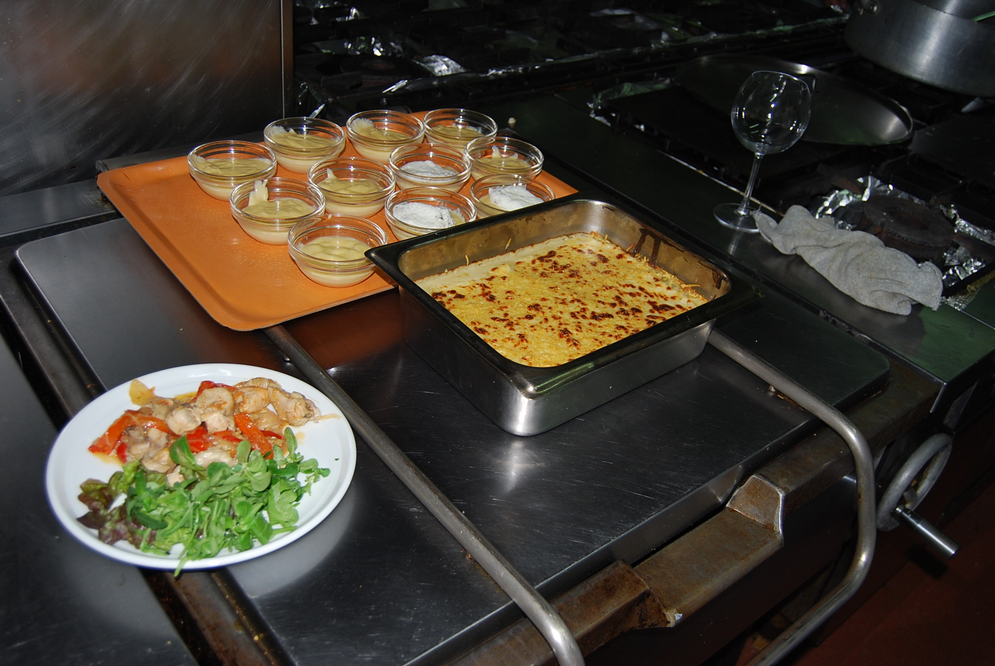 Taller de cocina 296 red espa ola de universidades for Taller de cocina teruel